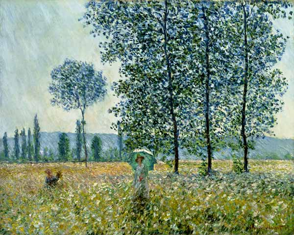 Fields in Spring — Claude Monet