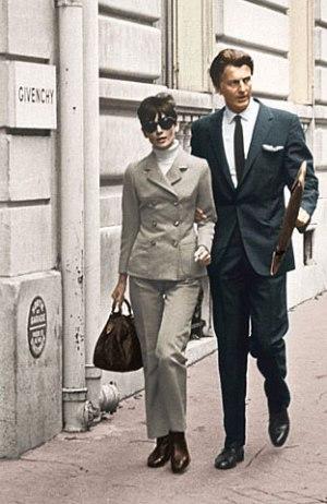Astrology & Fashion: Audrey Hepburn & Hubert de Givenchy