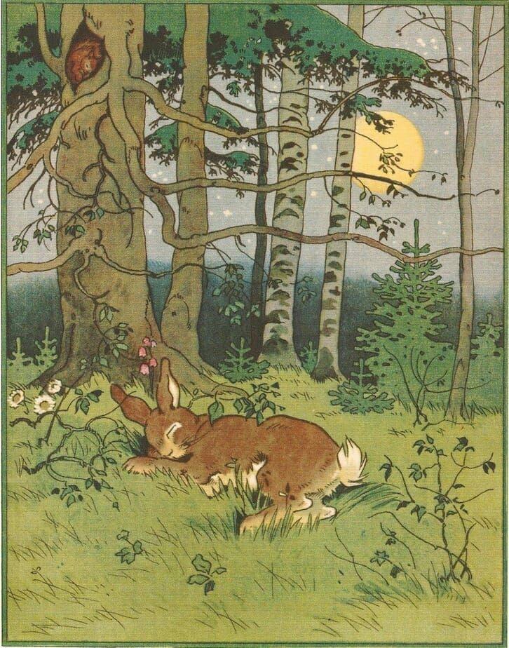 Sleeping Bunny, Fritz Baumgarten