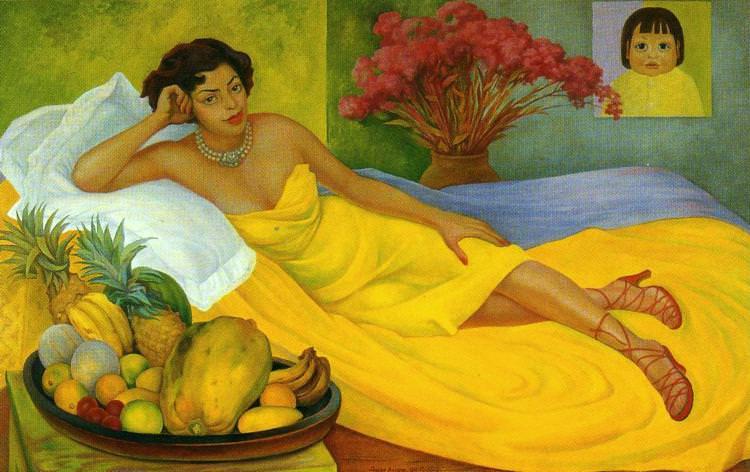 Portrait of Señora Dona Elena, Diego Rivera