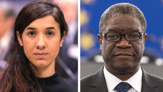 On the day Venus turned retrograde, Nadia Murad and Dr Denis Mukwege were awarded the Nobel Peace Prize for services to rape victims in wars.