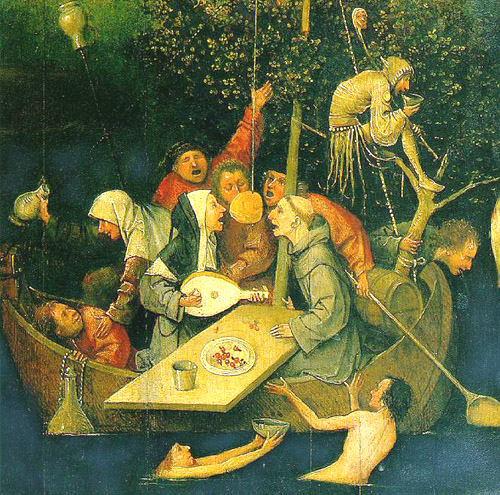 The Ship of fools -- Hieronymous Bosch