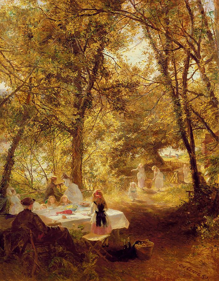Picnic. Charles James Lewis