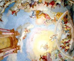 Wieskirche Ceiling Detail