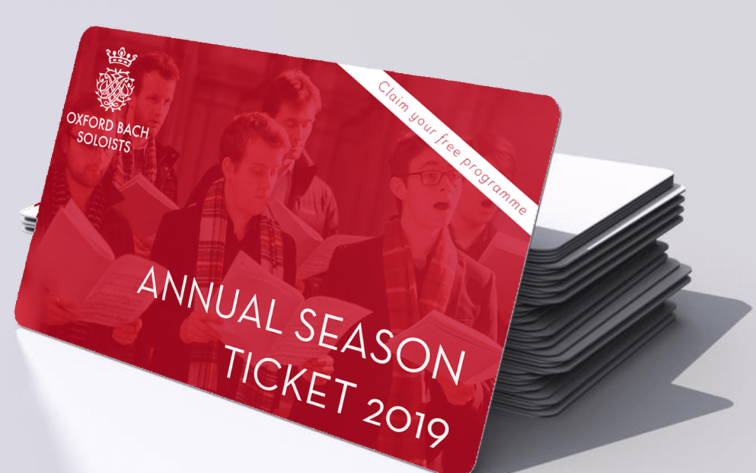 Announcing our new Annual Season Ticket