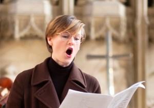 Choral Scholar Focus: Aimee Presswood
