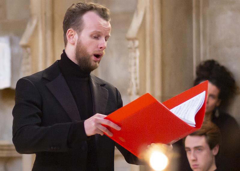 Tom Lowen singing