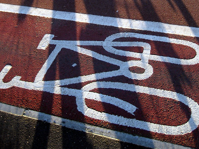 Bike Path shadow