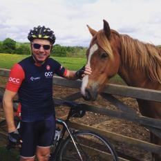 Webby feeling a little horse