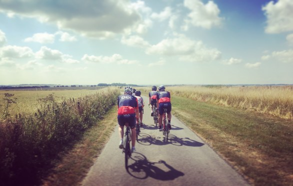 After a freezing winter and a wet spring, 2018 was a cycling summer to remember. A parched Sheepdrove Road on The Ridgeway in July.