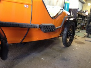 New Exhaust for Ulster