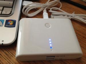 Kit: High Power 10400mAh Dual USB Emergency Charger