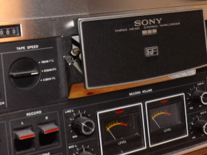The Sony TC-377 is as much an ornament as it is a machine.