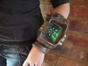 Pip-Boy 3000 model from chanced1 on deviantart http://chanced1.deviantart.com/art/Pip-Boy-iPhone-209078749