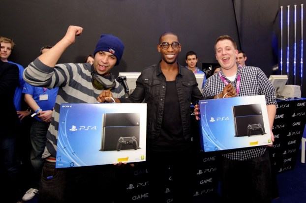 Sony PlayStation 4 launch, London, Britain - 28 Nov 2013