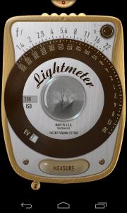 light meter app screenshot