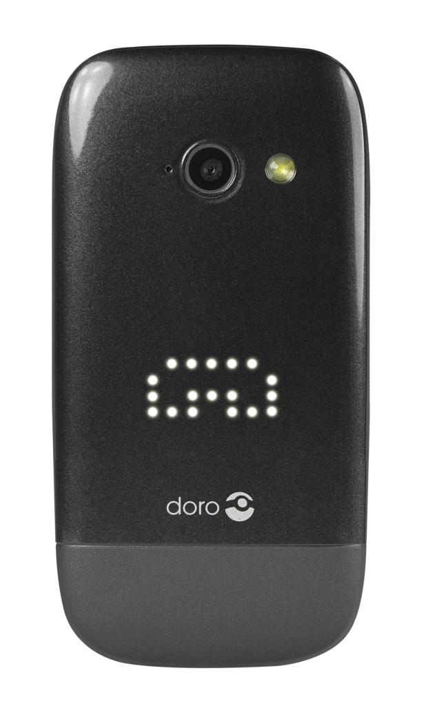 Doro PhoneEasy 632 Black Front