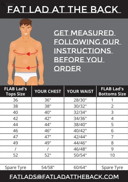 flab size