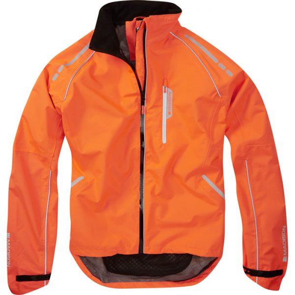shocking orange XX-large Madison Stellar men/'s long sleeved thermal jersey
