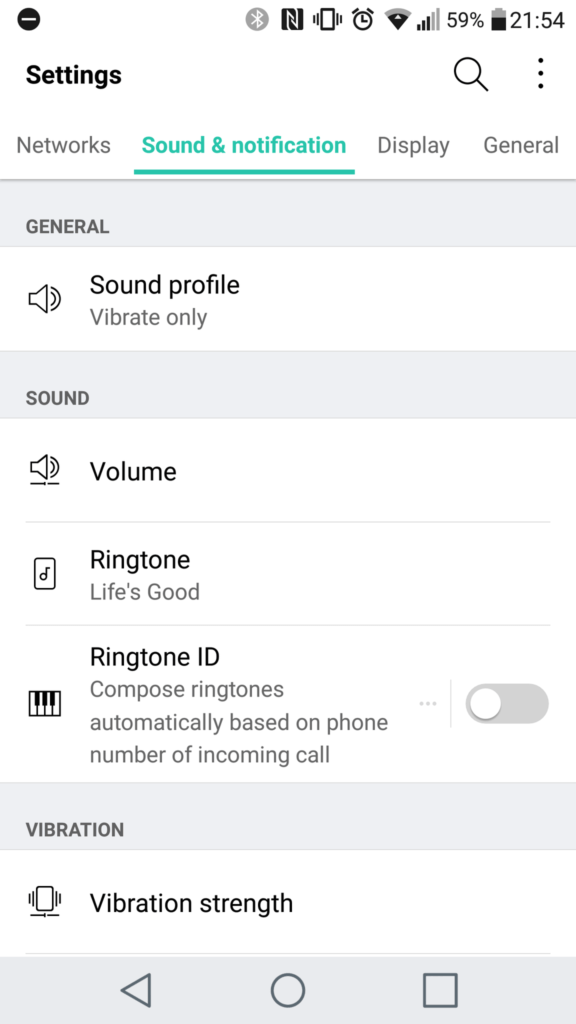 LG G5 SOUND TAB