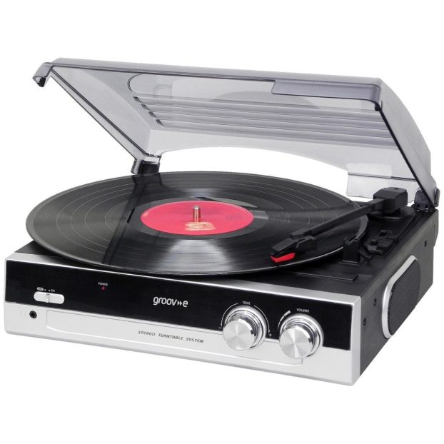 groov-e vintage turntable