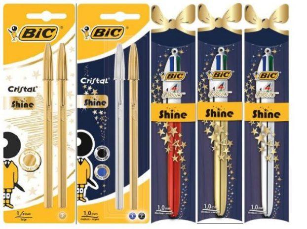 bic pens glitter