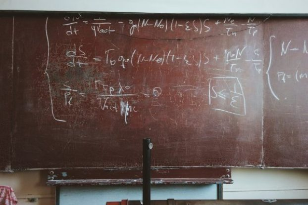 black board maths equations math dyscalculia dyslexia