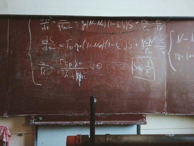 black board maths equations math dyscalculia dyslexia