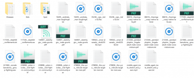 sound effects budget sound design library folder pc organised attribution