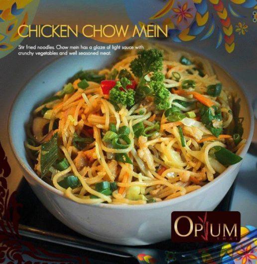 Chicken Chowmein Opium