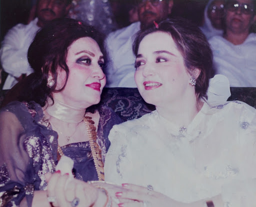 Noor Jahan with Zille Huma