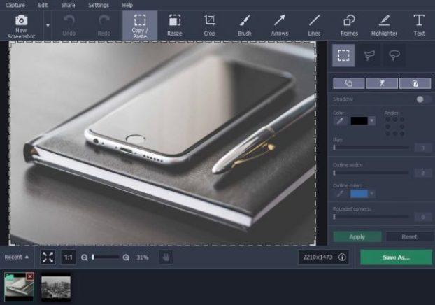screen capture recording videos