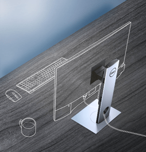 dell modular zero-footprint pc