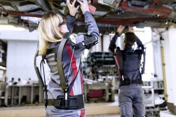 Audi exoskeletons