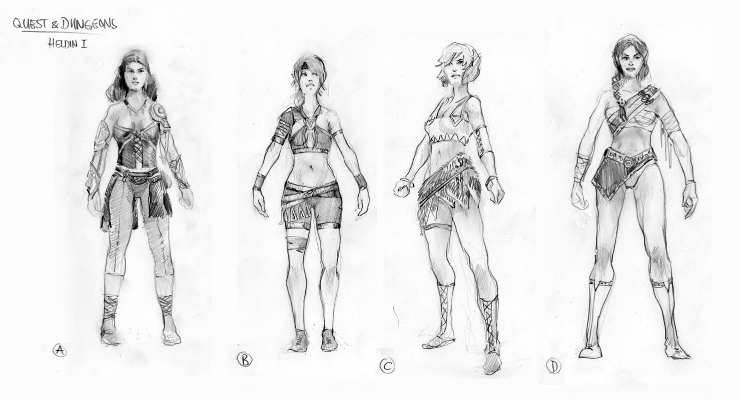Character Design Thomas Schmall