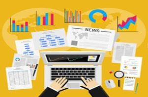 Image écrire des articles pour le web, rédaction de blogs et newsletters