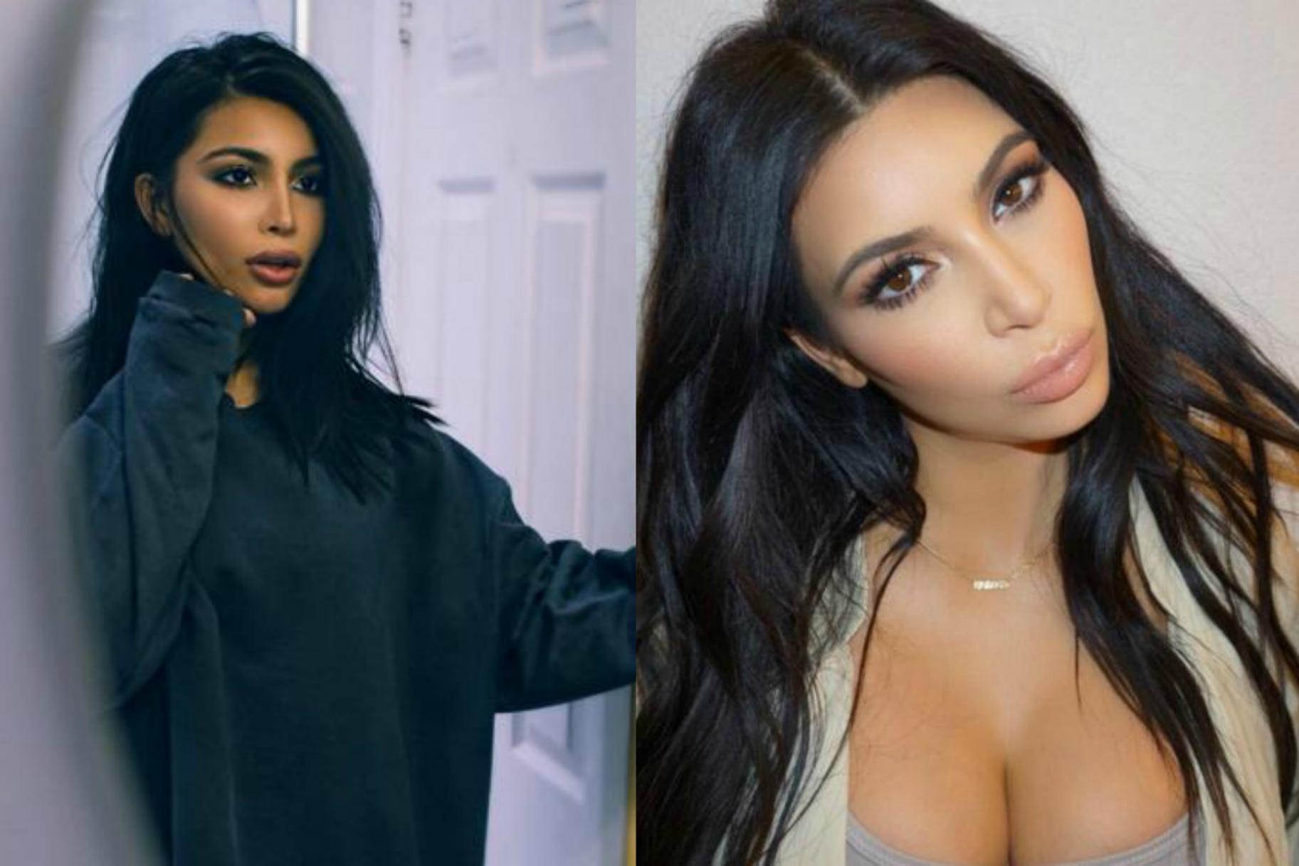 Is This Fashion Blogger Kim Kardashians Long Lost Twin