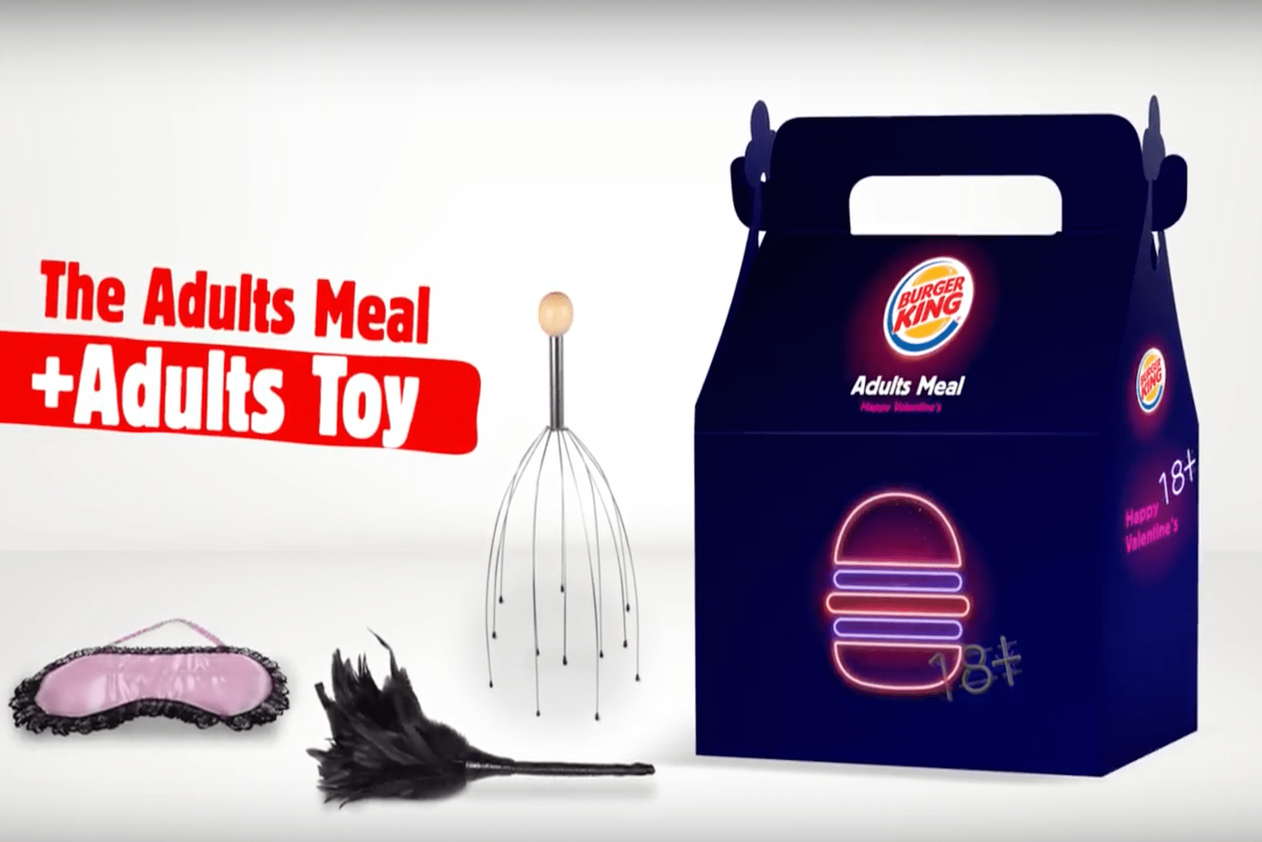 Burger Kings Limited Edition Adult Meals Offer Sex Toys