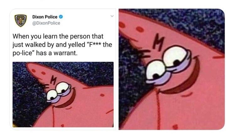 Meme Savage Patrick Evil Star
