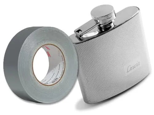 01-Duct-tape-Flask-to-Body
