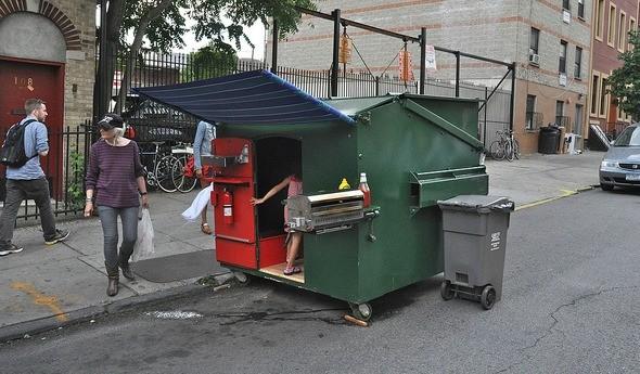 Dumpster Living