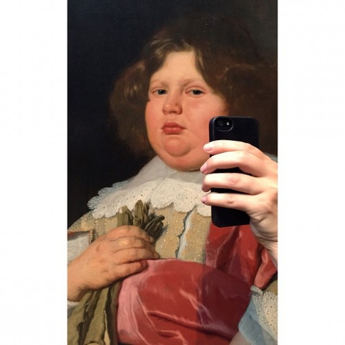 iphone paintings selfie 2