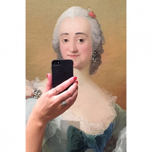 iphone paintings selfie 3
