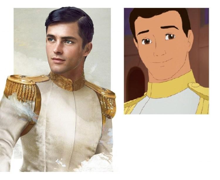 disney princes in real life