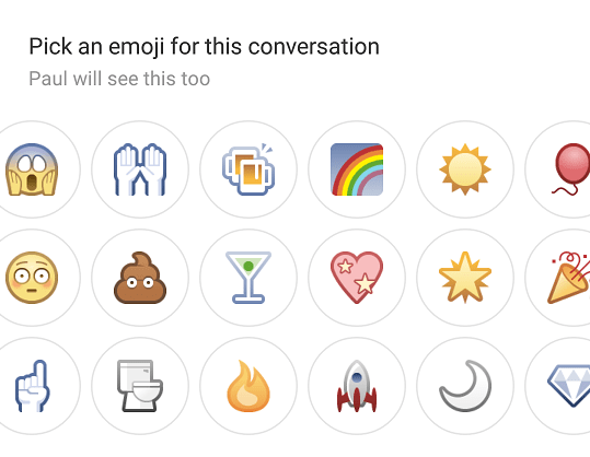 facebook chat emojis