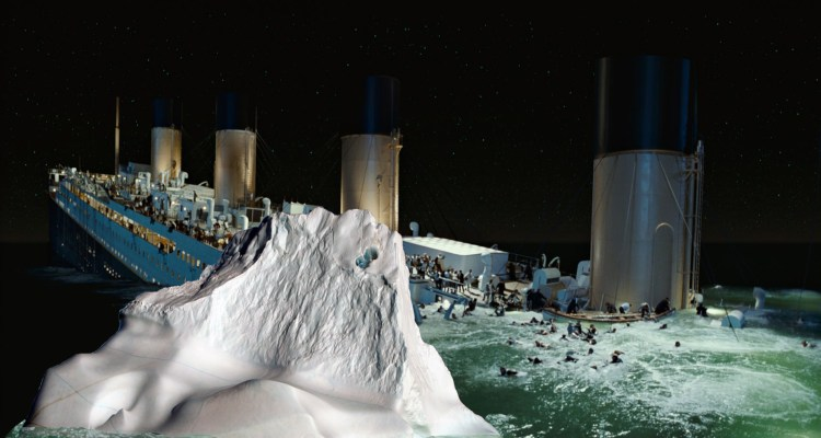 Titanic Iceberg in action