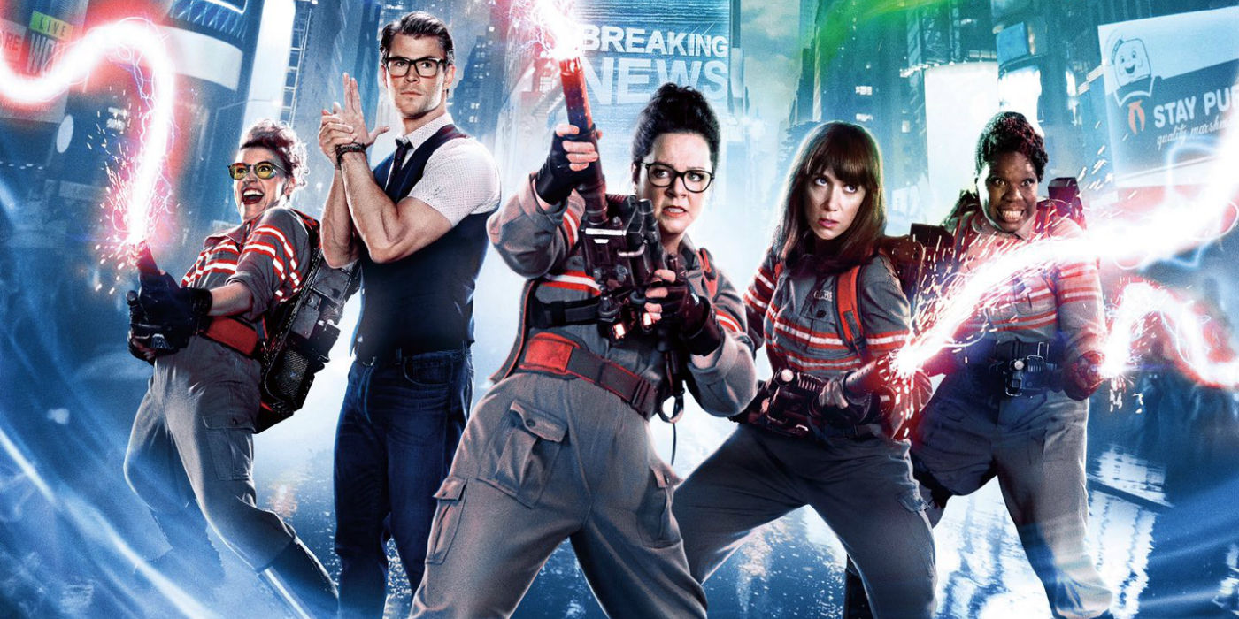 Image result for Ghostbusters 2016