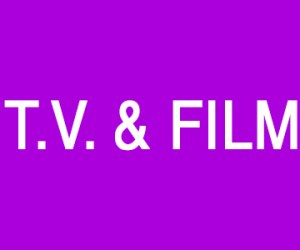 T.V. & Film Smedias
