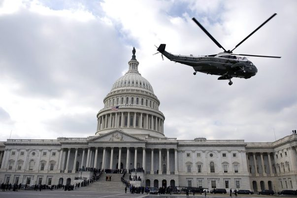 Trump Inauguration Helicopter