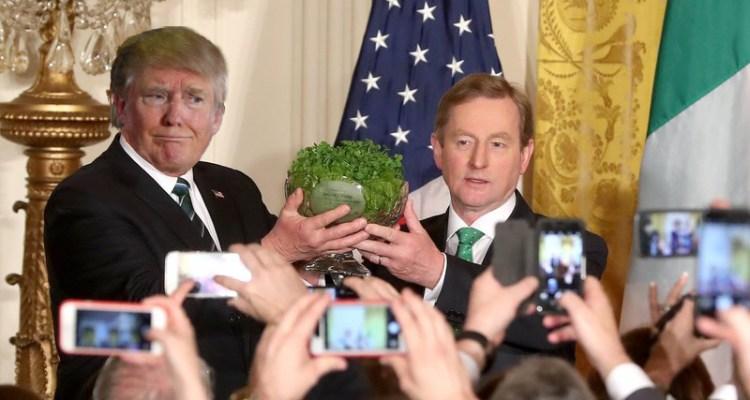 Enda Kenny Trump